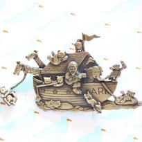 JJ ヴィンテージブローチ  ノアの方舟
