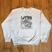 LOTTIES DEMON CREWNECK SWEATSHIRT IN ASH