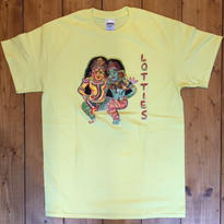 LOTTIES ROMANCE SHORT SLEEVE T-SHRT IN YELLOW