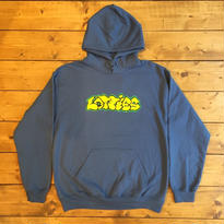 LOTTIES GRAPHITE HOODIE IN DARK BLUE