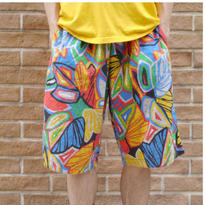 Pop art half pants