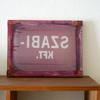 ハンガリーのシルクスクリーン(SZABI)
