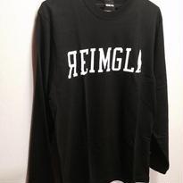 REIMGLA LOGO Long T-shirts(Black)