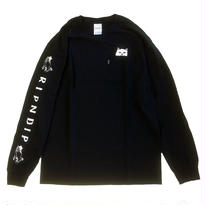 RIPNDIP / LORD NERMAL POCKET TEE L/S TEE BLACK リップンディップ 長袖Tシャツ