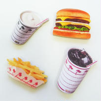 In-N-Out Burger MiniMagnetSet INNOUT マグネット