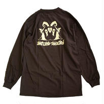 FUCKING AWESOME / Hearts L/S TEE Chocolate 長袖Tシャツ FA JASON DILL