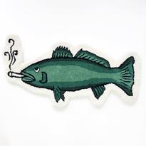 GOOD WORTH / SMOKING FISH RUG グッドワース ラグマット