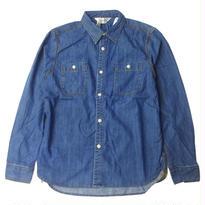FIVE BROTHER DENIM WORK Shirts INDIGO ファイブブラザー インディゴ デニム ワークシャツ