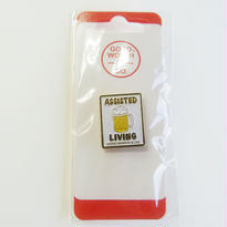 GOOD WORTH & CO ASSISTED LIVING BEER PIN  グッドワース ピンズ