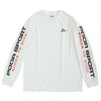 CLSC PS89 L/S TEE WHITE 長袖Tシャツ