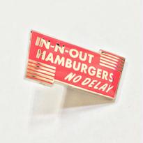 In-N-Out Burger NO DELAY COLLECTORS PIN インアンドアウトバーガー ピンズ
