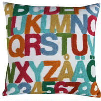 TIKAU_ABC Cushion Cover