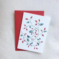 Happy Sthlm_folded card_ROSE HIP