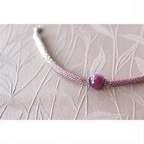 羽織紐*パープルサファイア
