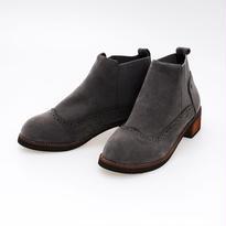 スウェード調 ショート ブーツ