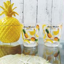 Aloha Mahalo バナナ&パイナップル  グラス