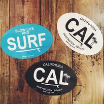 SURF・CALスタイルオーバルマグネット