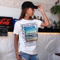VOLCOM ボルコムレディース Frame Mania Tシャツ