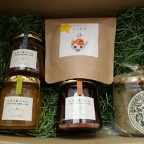 シズオカボックス(ジャム3種と玉川紅茶、ぶっかけレモン)