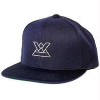 KABUTO SNAPBACK CAP [NAVY]