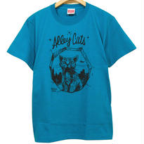 Alley Cats tee [APPLE GREEN]