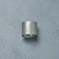 shuo15007 Mat silver Ring (Small)