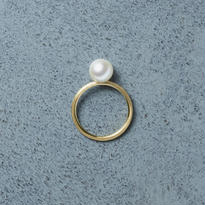 shuo13014  AkoyaPearl Ring (K18YG)