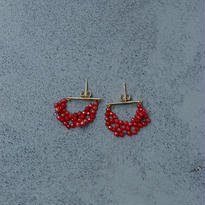 shuo14002 Red Coral Piercing