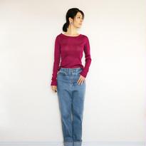 ◆特別価格◆Sサイズ即納◆Crux[クルックス] ラウンドネック・セーター / ベリー・ピンク