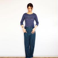 ◆特別価格◆Mサイズ即納◆Crux[クルックス] ラウンドネック・セーター / ブルー系2