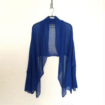 ◆特別価格◆即納◆Rigel[リゲル] 袖付きストール / ロイヤル・ブルー