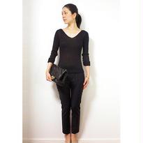 ◆特別価格◆Lサイズ即納◆Kruger[クリューガー] Vネック・セーター / ブラック