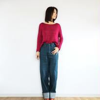 ◆特別価格◆Aries[アリエス] ボクシー・セーター1 / ピンク系1