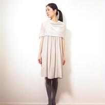 ◆特別価格◆即納◆Saiph[サイフ] 裾ラメ・エアリーストール / アイシー・グレー