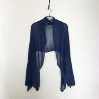 ◆特別価格◆即納◆Rigel[リゲル] 袖付きストール / ナイト・ブルー