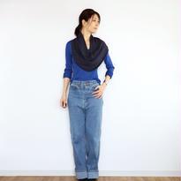 ◆特別価格◆Corona[コロナ] スヌード・ケープ / ネイビー・ブルー