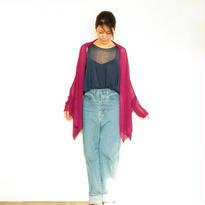 ◆特別価格◆即納◆Rigel[リゲル] 袖付きストール / ベリー・ピンク