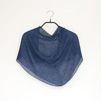 ◆特別価格◆即納◆Rubidea[ルビデア] スヌード・ケープ3 / ナイト・ブルー