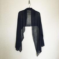 ◆特別価格◆即納◆Rigel[リゲル] 袖付きストール / ネイビー・ブルー