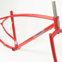 【Retrotec】Bloody Red Twin-Top Fat Bike