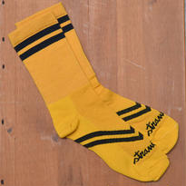 [Strawfoot] Dugout Socks / GOLD