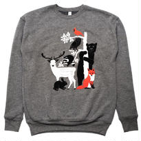 [Gnome Enterprises]  Print Sweat Shirt