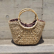 BAMBOO HANDLE  BASKET