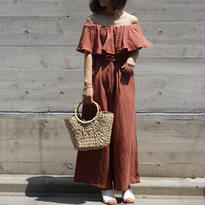 RINEN OFF SHOULDER COMBINAISON