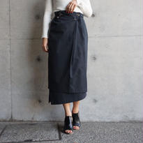 ASYMMETRY LAYER SKIRT