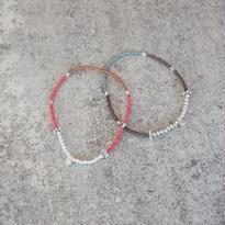 silver motif bracelet