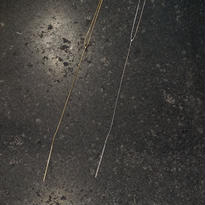 stick long chain necklace