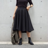 ASYMMETRY FLARE SKIRT
