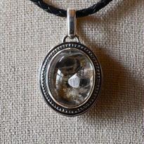 水晶の庭(Quartz garden pendant)