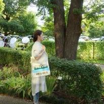 【香港☆李鄭屋手作人】手書きトートバッグ/ スターフェリー・トラム